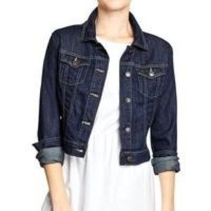Mossimo cropped jean jacket